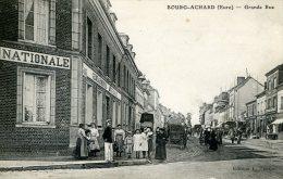 27-BOURG-ACHARD....GRANDE RUE...CPA ANIMEE - Other Municipalities