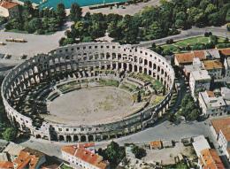 """Yugoslavia--Pula--1979--Stadio, """"Pula Arena""""--a, Brienz, Suiza - Estadios"""