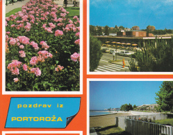 Yugoslavia--Pozdrav Iz Portoroza--1986--a, Suiza - Yugoslavia