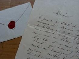 PRINCE Manuel Carlos Luis De GODOY DI BASSANO (1835-1896) - Secrétaire Ambassade - Autographe - Autographes