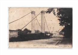 70 GRAY Pont Suspendu, Ed Bergeret, 1906 - Gray
