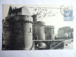 44 NANTES - ENTREE DU CHATEAU 155 - Nantes