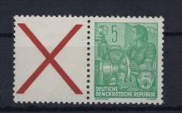 DDR W 5 ** postfrisch