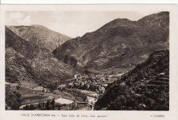 VALLS D'ANDORRA - SANT JULIA DE LORIA - Vista General - GRAND FORMAT - VOIR 2 SCANS - - Andorra