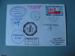 ==  Anarktis Cv. Captain Signature 1978 - Cartas