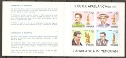 AJEDREZ - CUBA1982 - Yvert #C2409 (Carnet) - MNH ** - Ajedrez