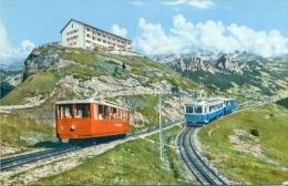 Rigi-Kulm (1800 M.) - Les Trains - Trains