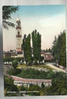 Vecchia Cartolina Bella Ma Rovinata Lomazzo Scorcio Panoramico - Como