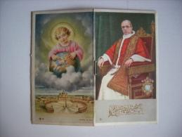 "Calendarietto/calendario/ Opuscolo ""PIUS XII Anno Santo 1950"" (Papa Pio XII) - Calendari"