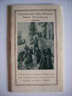 Calendario Delle Missioni Estere Francescane 1929 MILANO - Calendari