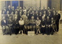 Avril-juillet 1936 Toulouse Cours Pratiques Des Surnuméraire PTT Postes Signatures Au Dos édit Simon R De Castres Toulou - Professions