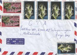 Burundi 2x 85f 5 X 120f Habenaria Adolphii Orchids Cover - Burundi