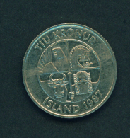 ICELAND - 1987 10k Circ. - Iceland