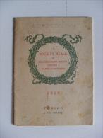 Calendario 1918 La Società Reale Di Assicurazione Mutua Contro I Danni D´incendio TORINO - Calendarios