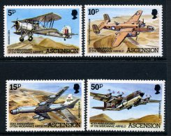 Ascension 1982 40th Anniversary Of Wideawake Airfield Set MNH - Ascension