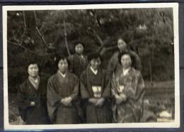 Japan ± 1935, Photo Of Unknown Women In Kimono - Personas Anónimos