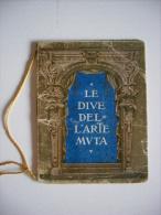 Calendario/calendarietto/ Almanacco LE DIVE DELL´ARTE MUTA 1927. Industria Saponi E Profumeria FONTANELLA Milano - Calendari
