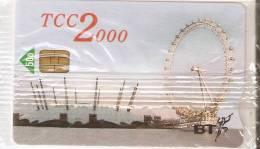 TARJETA DEL REINO UNIDO DE BT TCC 2000 (NUEVA-MINT) NORIA DE LONDRES - Regno Unito
