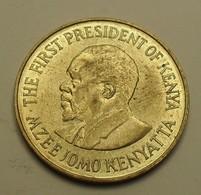 1973 - Kenya - Republic - TEN CENTS, Mzee Jomo Kenyatta, KM 11 - Kenia