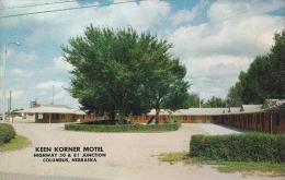 Nebraska Columbus Keen Korner Motel Highway 30 &amp  81 Junctiomn - Columbus