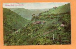 Military Road Near Aibonito PR 1910 Postcard - Puerto Rico