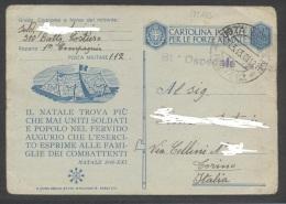 5149-FRANCHIGIA 2° GUERRA-81° OSPEDALE DA CAMPO-P.M. N. 112-26-03-1943 - 1900-44 Victor Emmanuel III