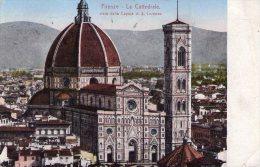 CPA: FIRENZE   (italie):   La Cathédrale, Vista Dalla Cupola Di S. Lorenzo (N°3) En 1921.  (9821) - Firenze
