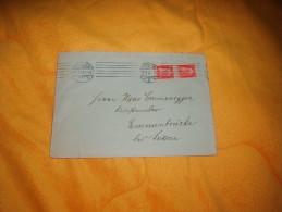 ENVELOPPE UNIQUEMENT ALLEMAGNE  DE 1914 / MUNCHEN VERS EMMENBRUCKE LUZERN .  / CACHETS + 2 TIMBRES BAYERN - Andere