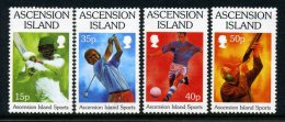 Ascension 1998 Sporting Activities Set MNH - Ascension