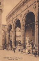 Italy Firenze Florence Piazza della Signoria Loggia de Lanzi
