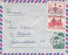 00310 Carta De Concepción-Chile A Ostmarldstrahse 1969 - Chili