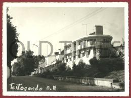 PORTUGAL - TORTOSENDO - UMA RUA DA VILA - 50S/60S REAL PHOTO. - Places