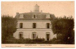 33 - Gironde / PORTETS -- Château Tardieu. - France
