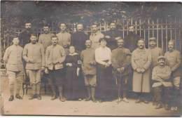 Militaria - Photo De Groupe - Lamalou-les Bains 1916 - Carte-photo - Militaria