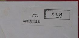 België 2013 PP Dagbladh Kimshop 9060 - Logo Bpost (fragment 114 X 228 Mm) - Automatenmarken (ATM)