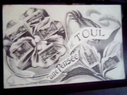 Une Pensée De Toul ,utilisée 1916 - Gruss Aus.../ Grüsse Aus...