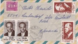 00335 Carta De Gramado-Brasil A Alemania - Brasil