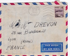 00358 De Marroc A Lyon-France 1954 - Angola