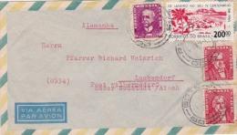00367 Carta De Brasil A Laubendorf - Brasil