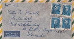 00368 Carta De Brasil A Laubendorf - Brasil