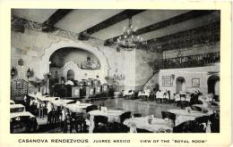 Royal Room, Casanova Rendezvous, Juarez, Mexico - Mexique