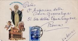 00377 Carta De Malta A Roma - Malta (la Orden De)