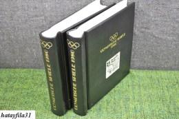 Olympische Spiele 1980 Abo Sammlung in 2 Alben  ( S - 215 )