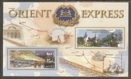 Romania. Scott # 5206a, MNH S/sheet. Orient Express. Joint Issue With Austria 2010 - Gemeinschaftsausgaben