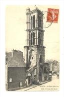 Cp, 78, Mantes, La Tour St-Maclou, Voyagée - Mantes La Ville