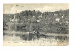 Cp, 94, La Varenne, Bords De La Marne, écrite - Autres Communes