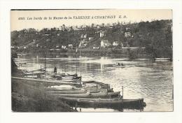 Cp, 94, Les Bords De La Marne De La Varenne à Champigny - France