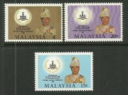 "Malaysia   ""Sultan Of Perak""   Set   SC# 317-19  MNH** - Malaysia (1964-...)"
