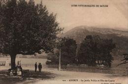 Annecy. Le Jardin Public Et L'Ile Des Cygnes - Annecy