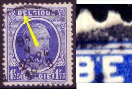Belgien Nr.229         O Used       (031) Apostroph Hinter B Von BELGIE ! - Abarten Und Kuriositäten